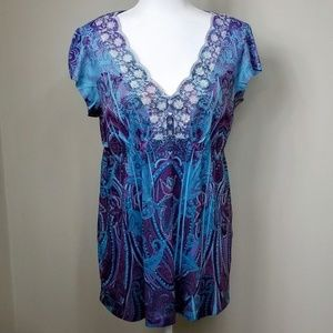 Gently Worn Beautiful Apt 9 Top!